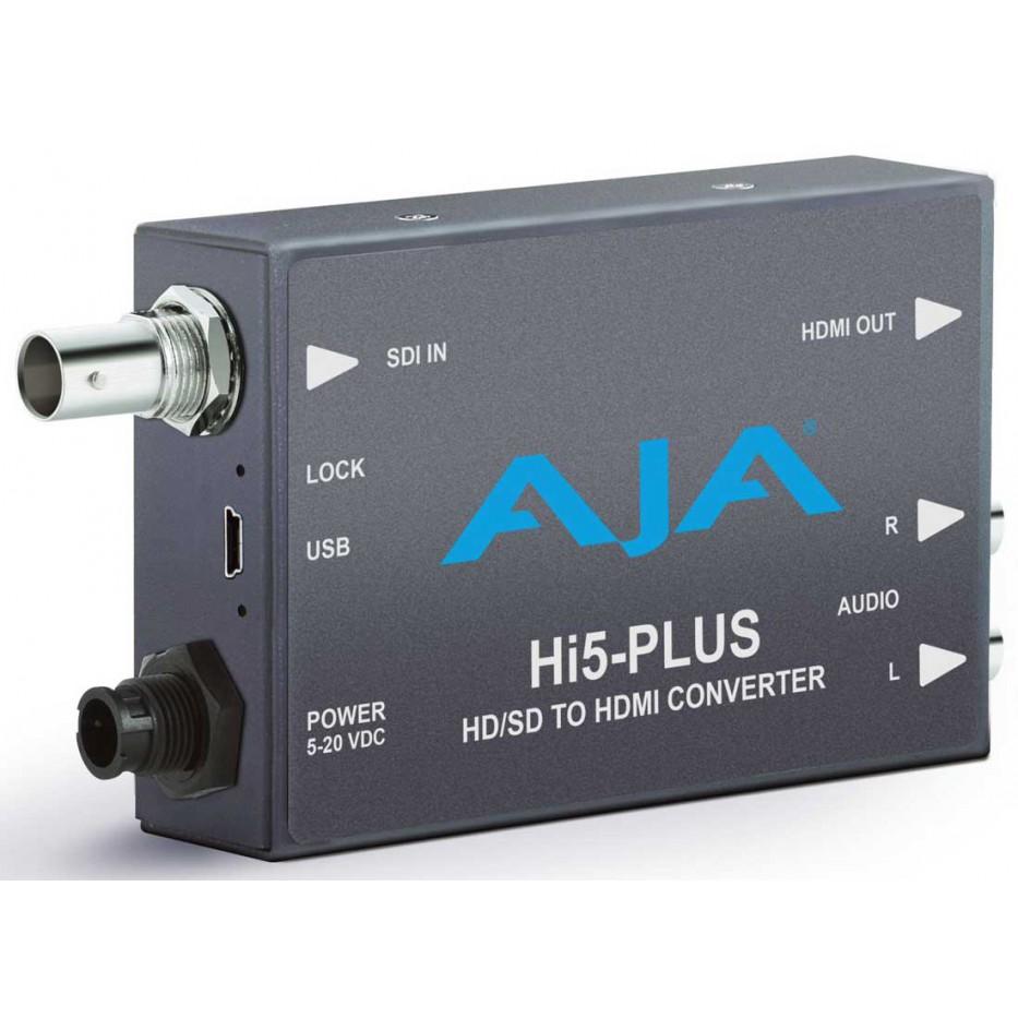 Aa-hi5-plus - Convertisseur Audio et Vidéo 3G HD-SDI vers HDMI