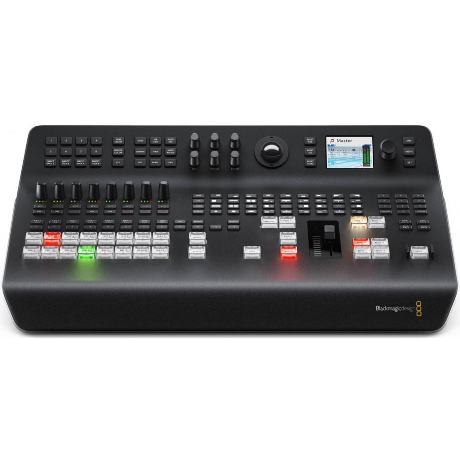 Blackmagic Atem Television Studio Pro 4K - Mélangeur vidéo 8 entrées 12G-SDI Ultra HD