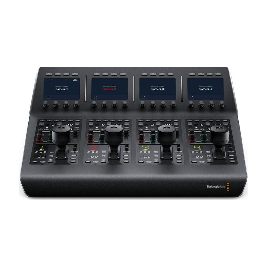 Blackmagic ATEM Camera Control Panel - Panneau de contrôle pour 4 caméras Blackmagic
