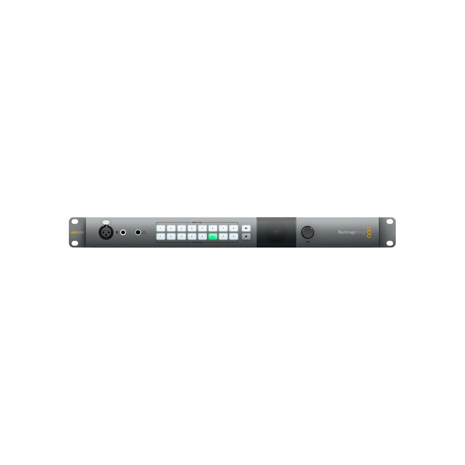 Blackmagic Atem Talkback Converter 4K - Intercom 12G-SDI pour 8 caméras plateau