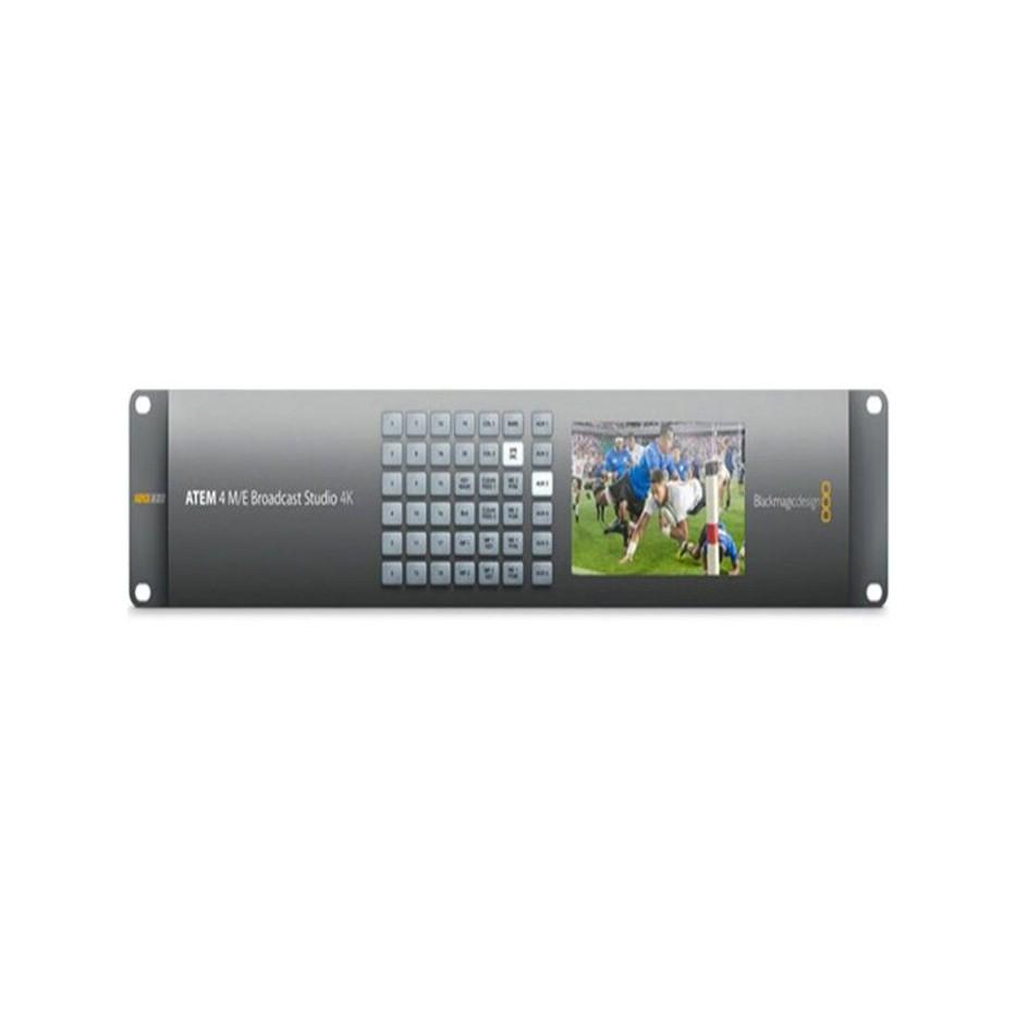 Blackmagic ATEM 4 M/E Broadcast Studio 4K, mélangeur vidéo de production en direct 4K/HD 20 entrées 12G-SDI