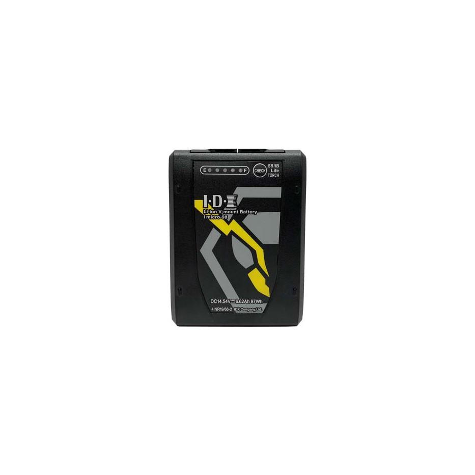IDX Imicro-98 Batterie V-mount Li-Ion