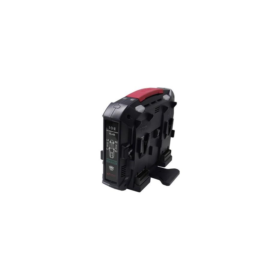 IDX VL-4X Chargeur batterie V-mount
