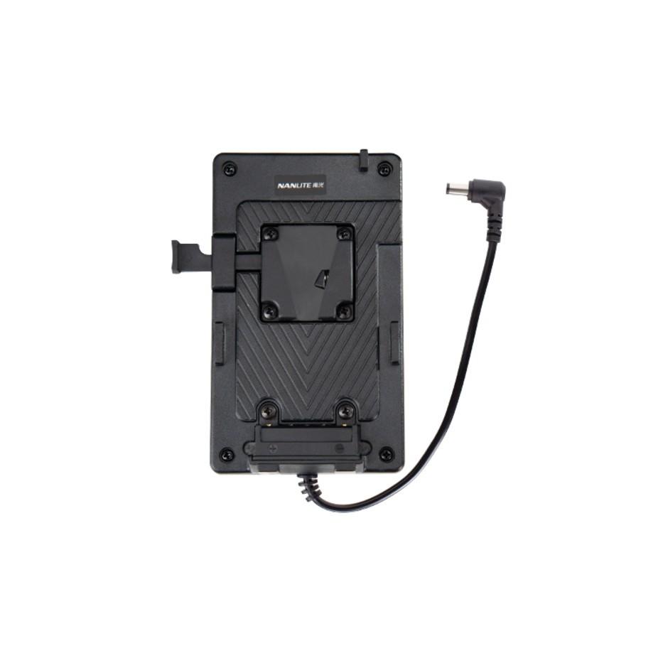 Nanlite BT-BA-V, adaptateur de batterie V-Mount pour Forza 300 et Forza 60