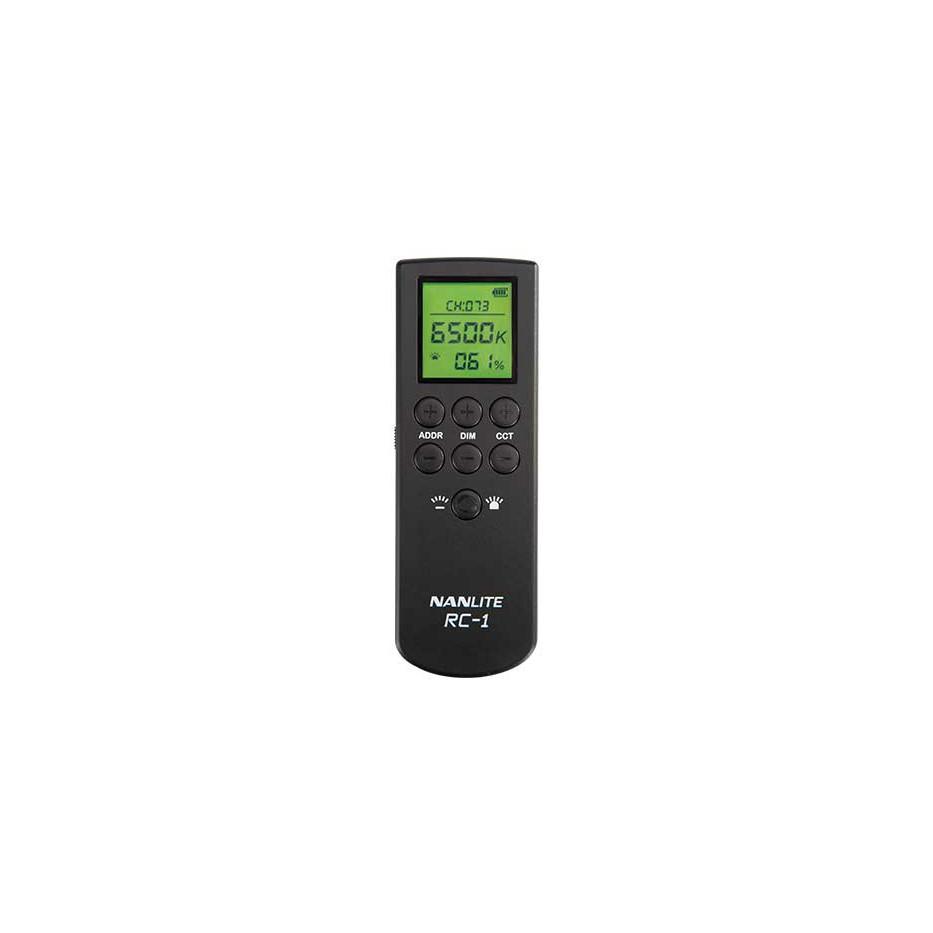 Nanlite RC-1 - Télécommande pour contrôler les éclairages LED Forza 300/500