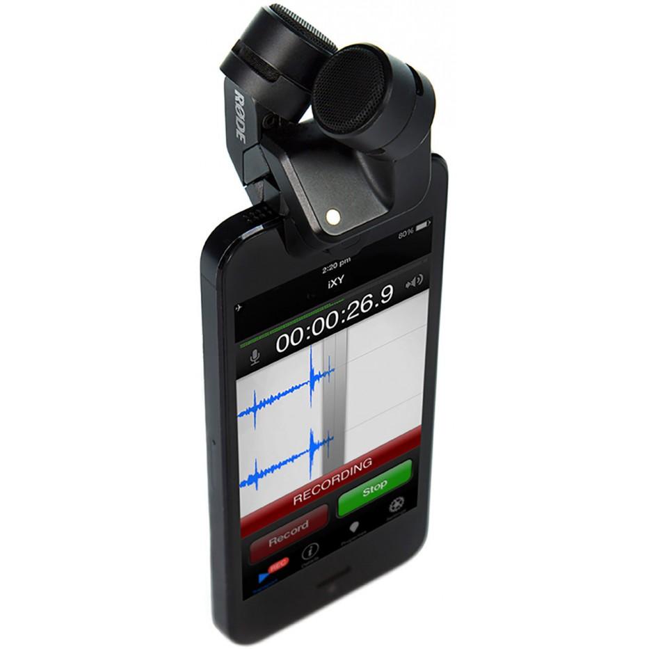 Rode i-xy - Microphone stéréo pour iPhone et iPad