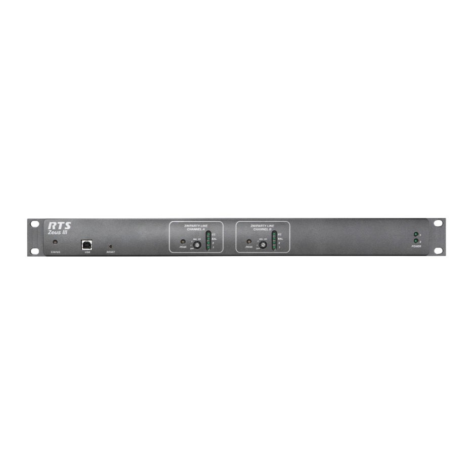 RTS Zeus III - Matrice-Intercom 16 canaux