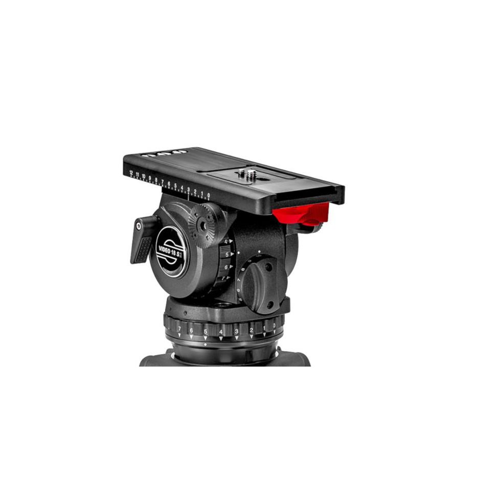 Sachtler Video 18 S2 - Tête fluide pour caméra professionnelle