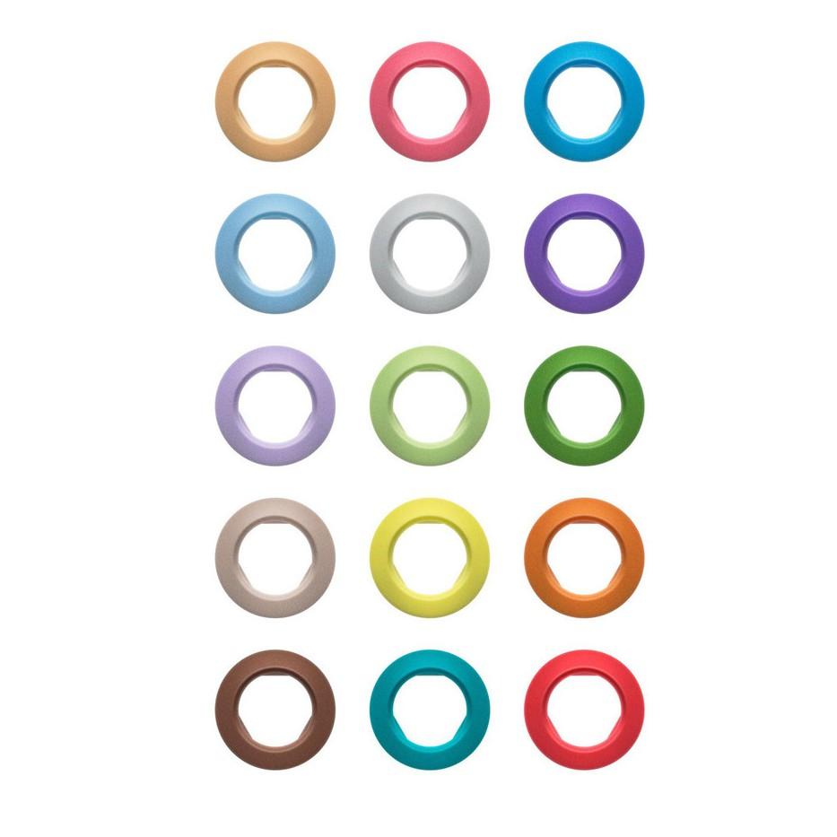 Sennheiser EW-D SK color coding - bagues de couleurs pour kit audio UHF EM, SKM-S et SK