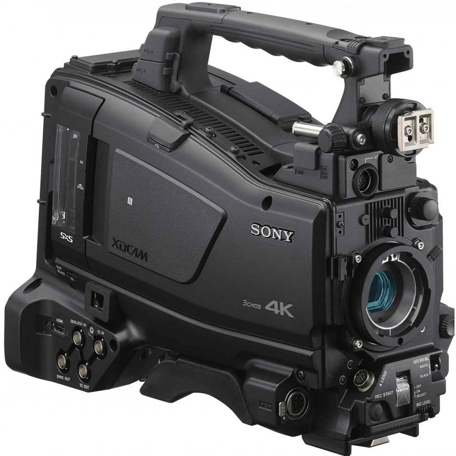 Sony PXW-Z750 - Caméscope d'épaule XDCAM 4K HDR 3CMOS 2/3