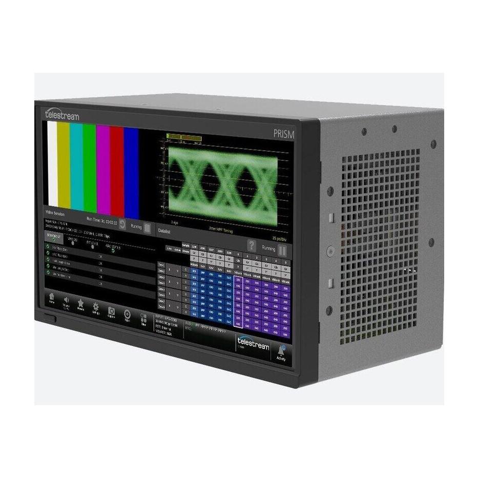 Telestream PRISM MPS-300 - Système de mesure embarqué avec waveform monitoring SDI 8K/4K et IP