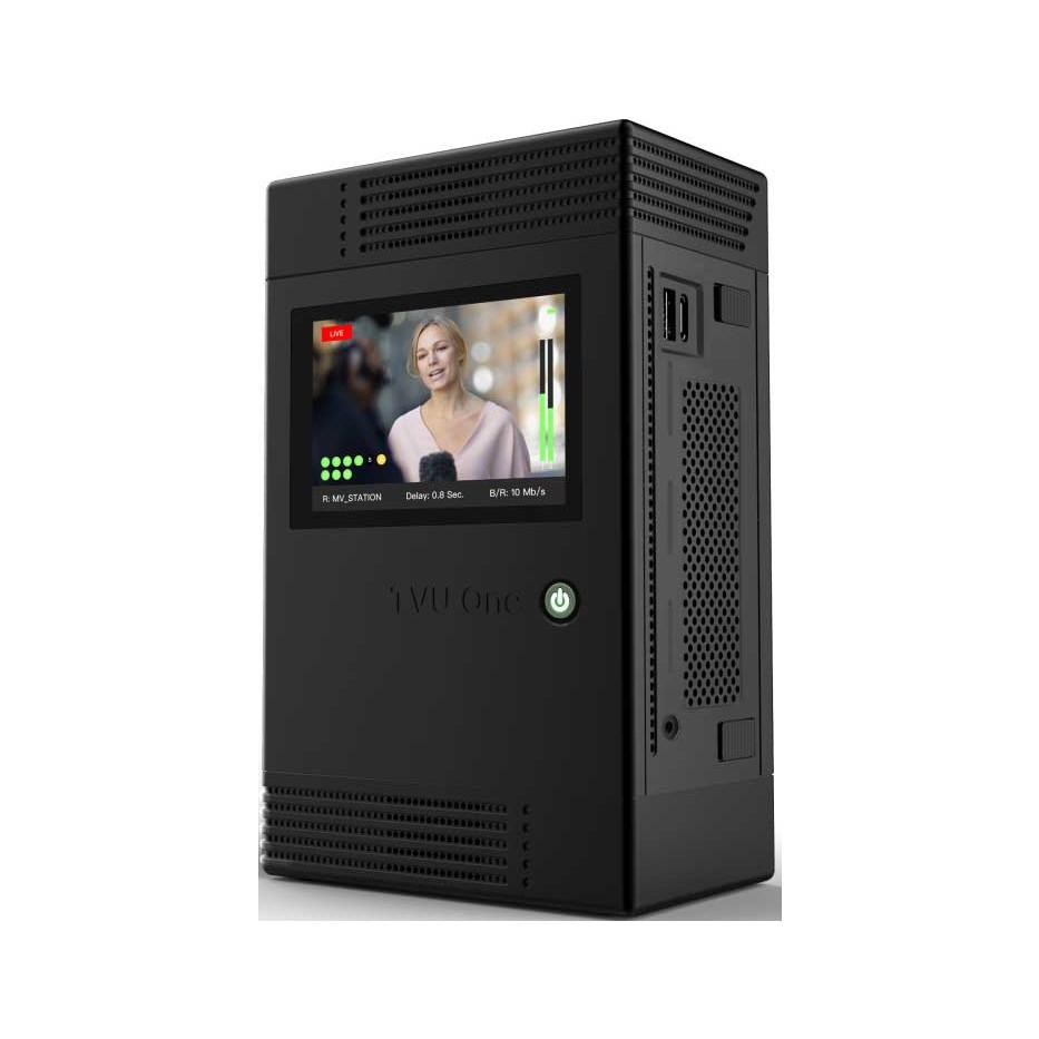 TVU ONE 4K HDR - Transmetteur vidéo portable en direct 4K HDR