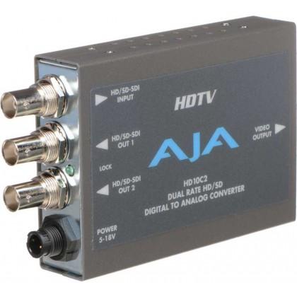 HD 10C2 - Convertisseur vidéo HD/SD Numérique - Analogique