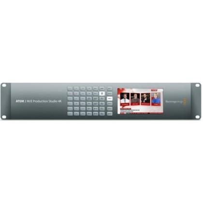ATEM 2 M/E Production Studio 4K - Mélangeur vidéo de production live 20 entrées 6G-SDI