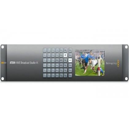ATEM 4 M/E Broadcast Studio 4K - Mélangeur vidéo de production en direct 4K/HD 20 entrées 12G-SDI