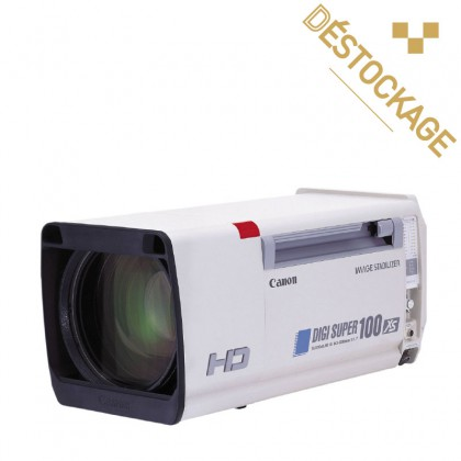 XJ100x9.3B - Digisuper 100 - Objectif box broadcast HD