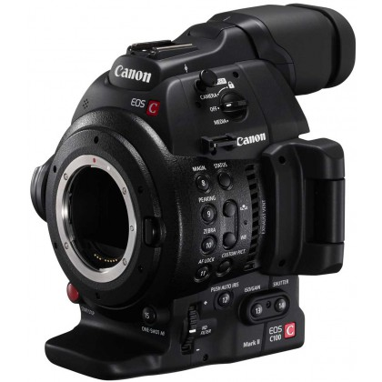 EOS C100 EF Mark II - Caméscope super 35 Full HD