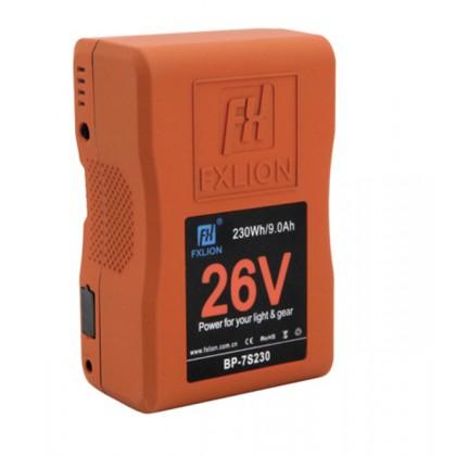 BP-7S230 - Batterie V-Mount 26 V - 230 Wh pour caméra et éclairage vidéo