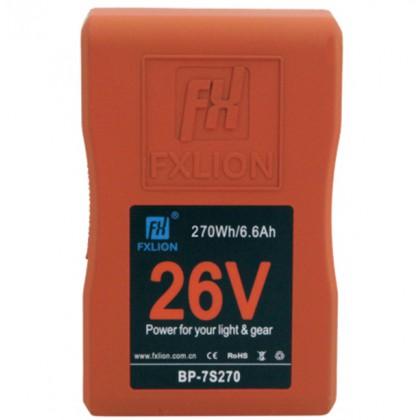 BP-7S270 - Batterie V-Mount 26 V - 270 Wh pour caméra et éclairage vidéo