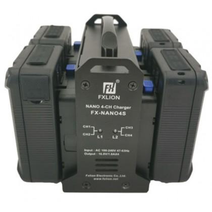 FX-NANO4S - Chargeur 4 voies de batterie Nano V-lock
