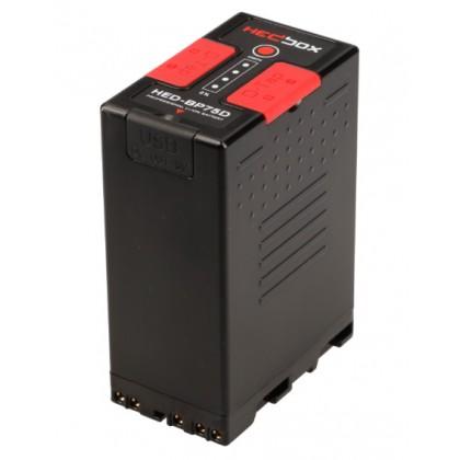 HED-BP75D - Batterie longue durée pour caméscope Sony PMW-PXW
