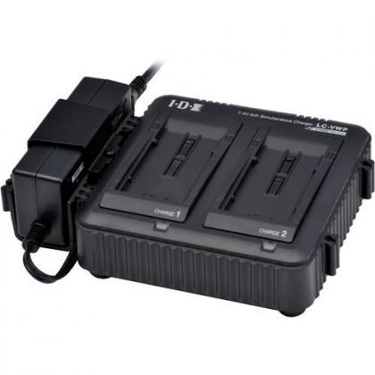 LC-VWP - Chargeur de batterie 2 voies simultané