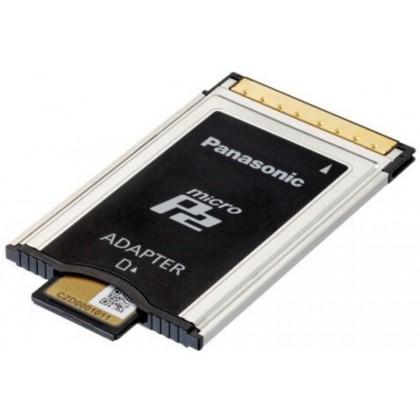 AJ-P2AD1G - Adaptateur de carte mémoire microP2 & SDHC / SDXC