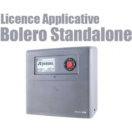 Application Bolero Standalone - Licence applicative Antenne Bolero