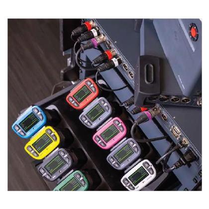 Color-coded Beltpack Covers - 5 protections pour boîtiers ceinture Bolero