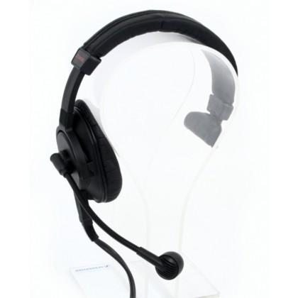 PRO-D1 (XLR4) - Casque audio simple oreillette avec micro hypercadioide atténuant le bruit