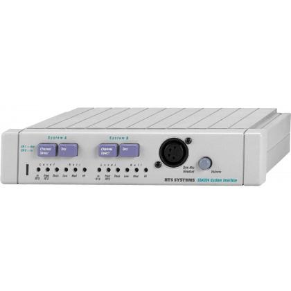 SSA-324 - Convertisseur intercom 2 canaux, 2 fils à 4 fils avec signal d'appel