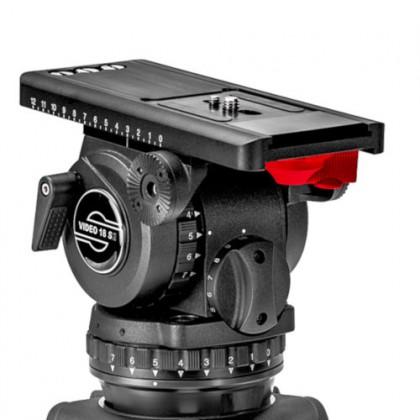 Video 18 S2 - Tête fluide avec plaque de caméra Touch & Go