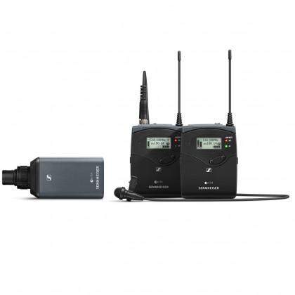 EW 100 ENG G4 - Kit audio HF sans fil avec micro cravate et émetteur enfichable de caméra