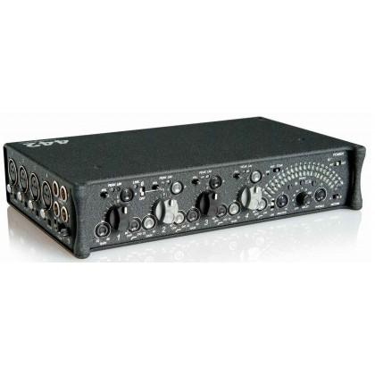 442 - Mixette audio portable 4 entrées /2+2 sorties