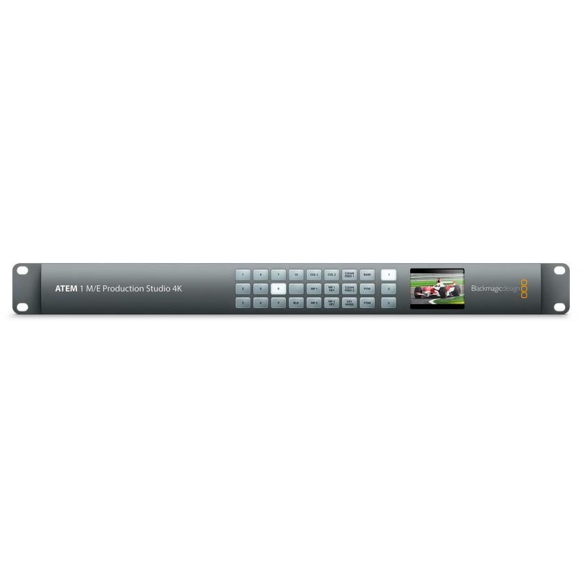 Blackmagic ATEM 1 M/E Production Studio 4K - Mélangeur vidéo de production live 10 entrées 6G-SDI