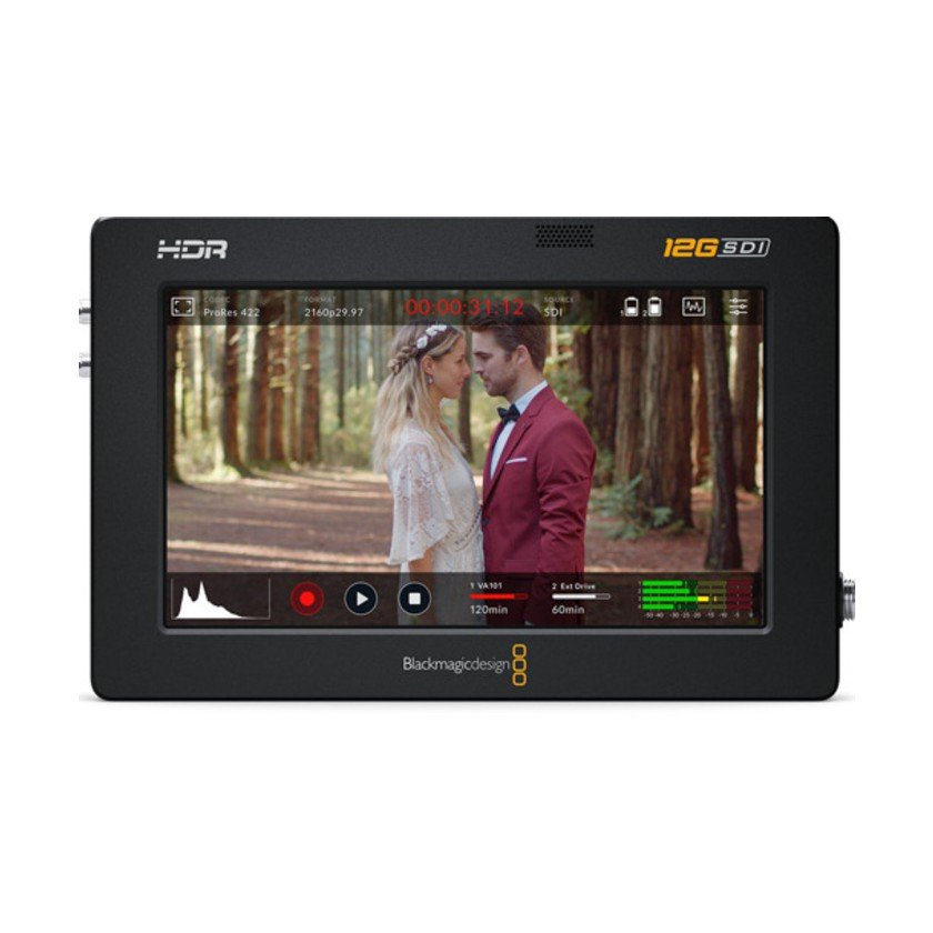 "Blackmagic Video Assist 5"" 12G HDR - Enregistreur & Moniteur vidéo"