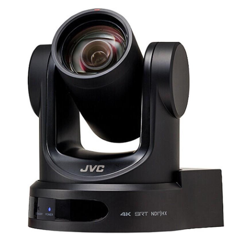 JVC KY-PZ400NBU, Caméra tourelle noire 4K avec streaming vidéo NDI HX, SRT