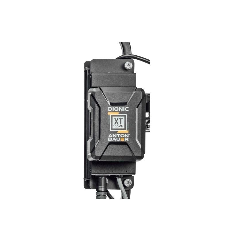 Litepanels 900-3704 - Support de batterie V-Mount pour panneau led Gemini 1x1