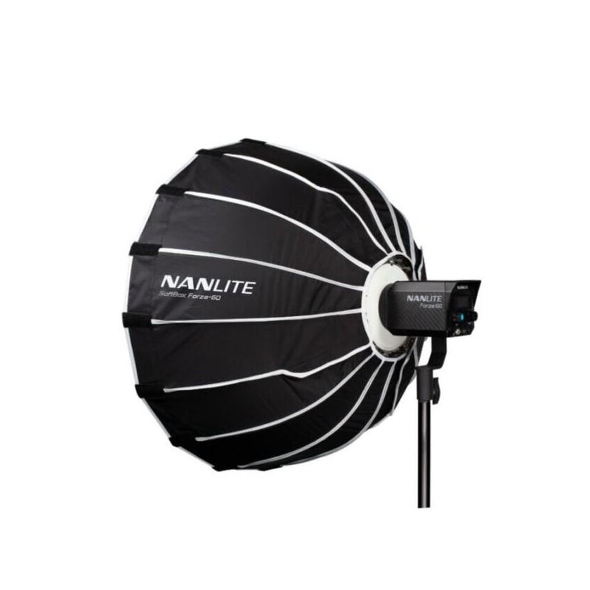 Nanlite SB-FZ60 - Boîte à lumière parabolique 60 cm pour projecteur LED Forza 60