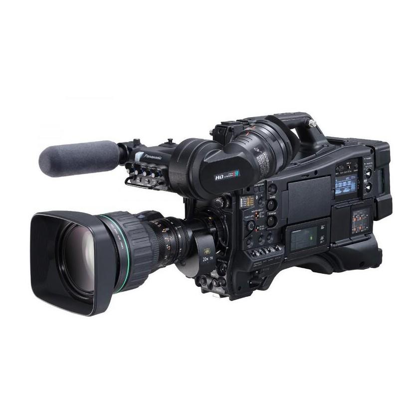 "Panasonic AJ-CX4000 - Caméscope d'épaule 4K HDR 2/3"" avec option NDI HX"