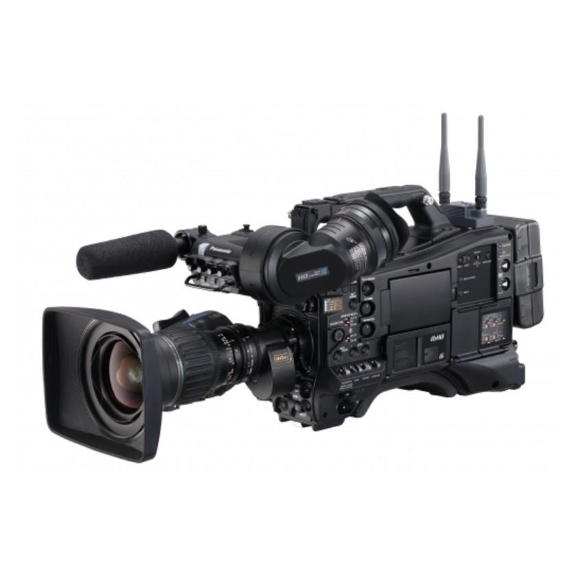 """Panasonic AJ-PX5100, caméscope d'épaule P2 HDR AVC-ULTRA 2/3"""" avec diffusion RTSP/RTMP"""