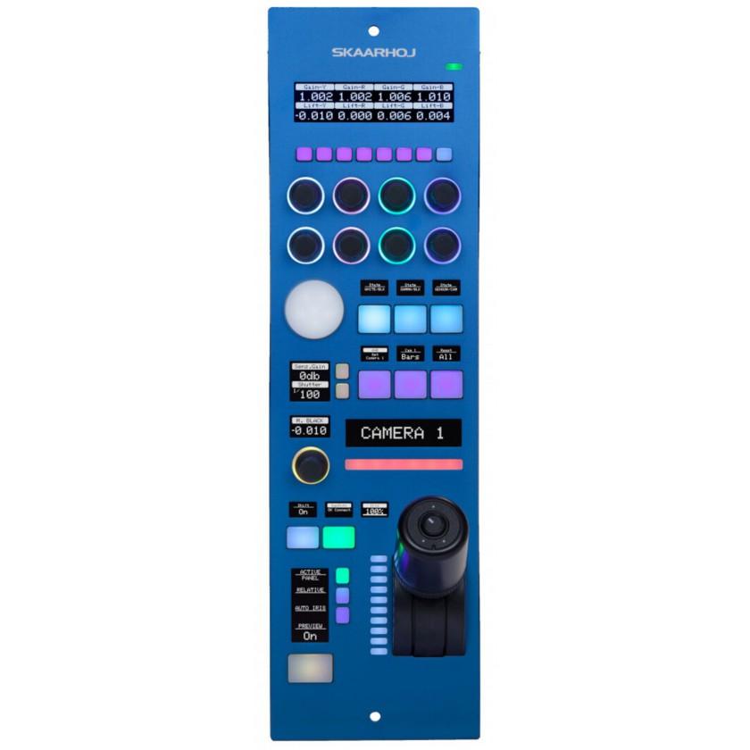 Skaarhoj RCPv2, panneau de contrôle universel pour caméra tourelle PTZ ou CCU de caméra plateau