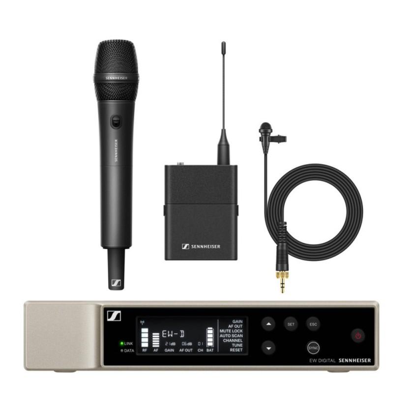 Sennheiser EW-D ME2/835-S SET (Q1-6) - Kit audio UHF avec micro main & micro cravate