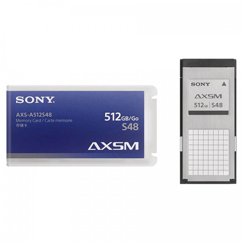 Sony AXS-A512S48, carte mémoire pour enregistreurs AXS-R5 et AXS-R7