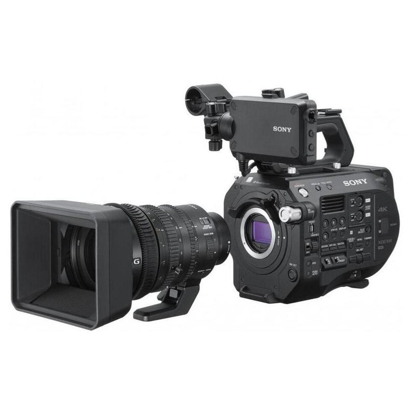 Sony PXW-FS7K Mark II avec objectif 4K SELP18110G 18-110 mm